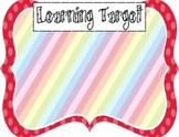 Learning Target Poster Pack (8)