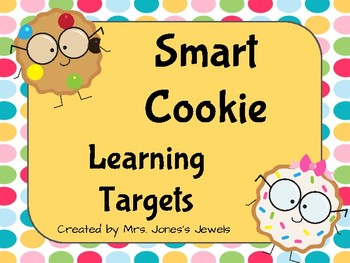 Learning Target Posters- Multicolored by Subject