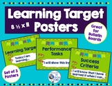 Learning Target Posters for Bulletin Boards