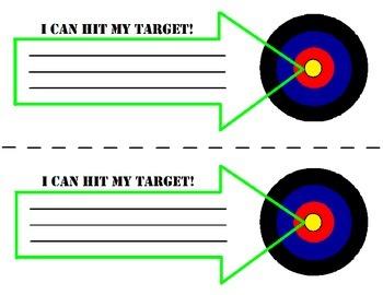 Learning Target Printable