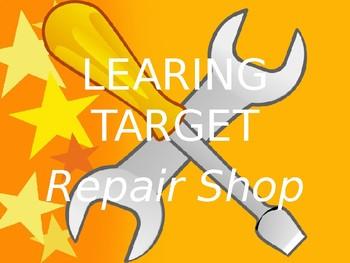 Learning Target Repair Shop