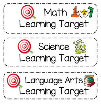 Learning Target Signs For Every Subject (Editable)