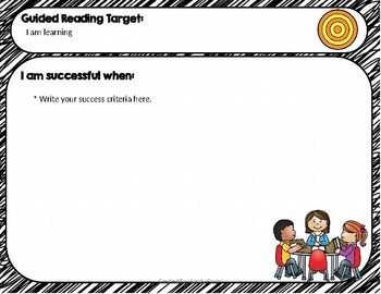 Learning Target and Success Criteria Signs