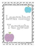 Learning Targets *Freebie*
