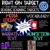 """Learning Targets: 4th Grade Reading """"I Can"""" Statements"""