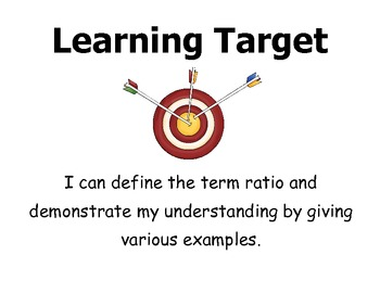 Learning Targets 6th grade CCSS- Math