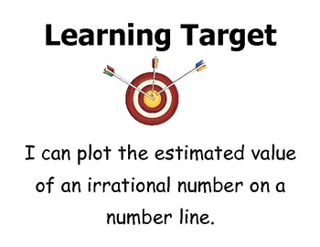Learning Targets 8th grade CCSS - Math