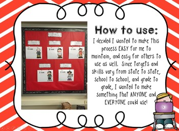 Learning Targets Bulletin Board Set