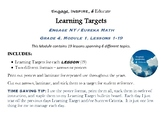 Learning Targets: Engage NY/Eureka Math, 4th Grade, Module 1