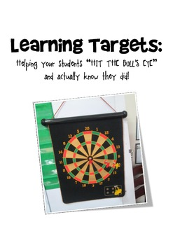 "Learning Targets - ""Hitting the Bull's eye!"""