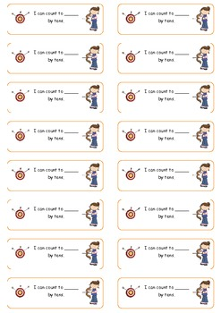 Learning Targets K5 CCSS- Math student labels