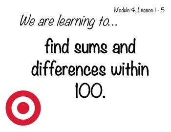 Learning Targets & Success Criteria: Engage NY/Eureka Math, 2nd Grade, Module 4