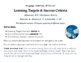 Learning Targets & Success Criteria: Engage NY/Eureka Math, 4th Grade, Module 1