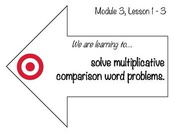 Learning Targets & Success Criteria: Engage NY/Eureka Math, 4th Grade,  Module 3