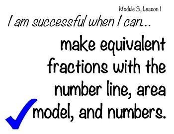 Learning Targets & Success Criteria: Engage NY/Eureka Math, 5th Grade, Module 3