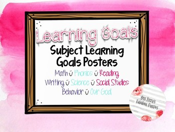 Learning Targets Watercolor