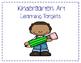 Learning Targets for Elementary Art- (K-5) Bundle
