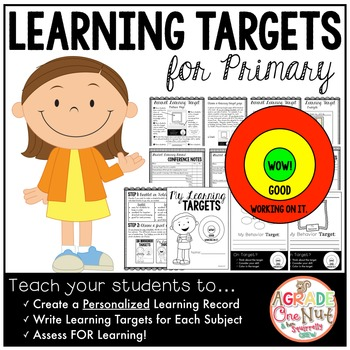 Learning Targets for Primary {Student Learning Record}