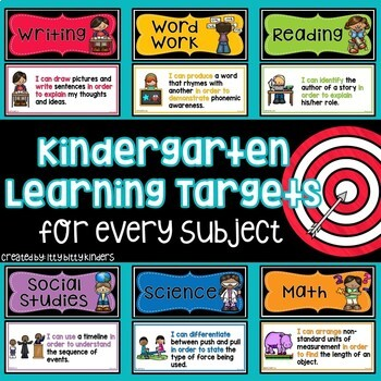 Learning Targets, objectives, I can statements Florida standards,