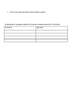Learning Team Forms
