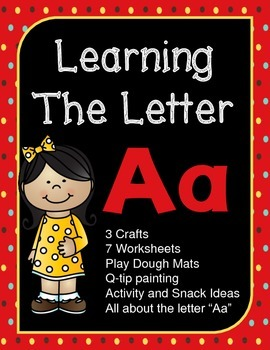 "Learning The Letter ""Aa"""