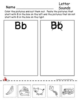 "Learning The Letter ""Bb"""