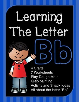 """Learning The Letter """"Bb"""""""