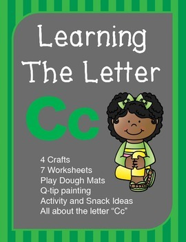 "Learning The Letter ""Cc"""