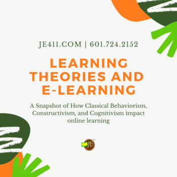Learning Theories & E-learning (Infographic)