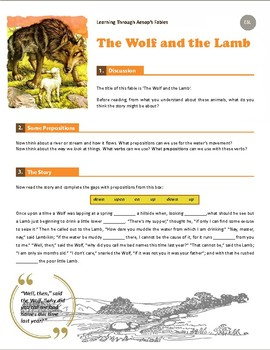 Learning Through Aesop's Fables - The Wolf and the Lamb