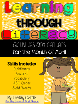 Learning Through Literacy: April