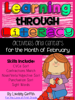 Learning Through Literacy: February