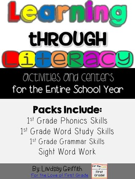 Learning Through Literacy: The Bundle