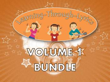 Learning Through Lyrics Lessons: Volume 1 Bundle