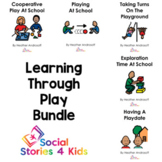 Learning Through Play Bundle (English Black and White Versions)