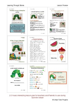 Learning Through Stories- Summer Fun Lesson Plan