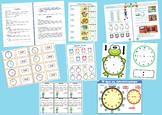 Learning Time Lesson Plan- in greek  (Σχέδιο Μαθήματος - Ω