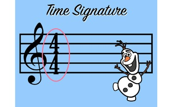 """Do you want to build a Time Signature? With """"Olaf"""""""