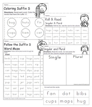 Learning To Read: Suffix S