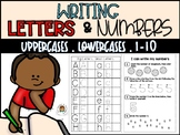 Learning To Write Numbers 1-10 and Letters (lowercases and