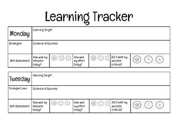 Learning Tracker