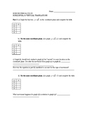 Learning Translations of Functions - Guided Activity