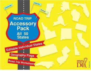 Learning Trip Accessories Pack ** ORIGINAL ARTWORK
