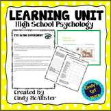Learning Unit for High School Psychology