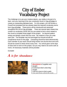 Learning Vocabulary by Creating an ABC Book