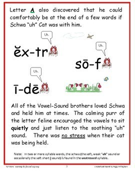 "Phonics Intervention: Book Set 8 - Schwa ""uh"" Cat and R the Rooster"