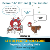 """PHONICS INTERVENTION LtVS Bk. 4 - Schwa """"uh"""" Cat and R the"""