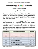 PHONICS INTERVENTION LtVS Bk.7 - Reviewing Vowel Sounds