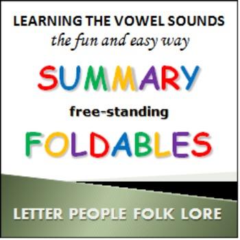 Learning Vowel Sounds foldables