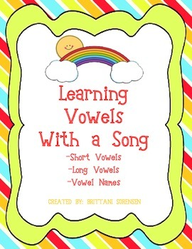 Learning Vowels with a Song: Short and Long Vowels and Vowel Names